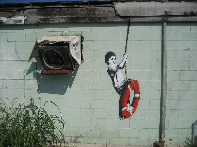 10.5 Banksy-Swinger-in New Orleans