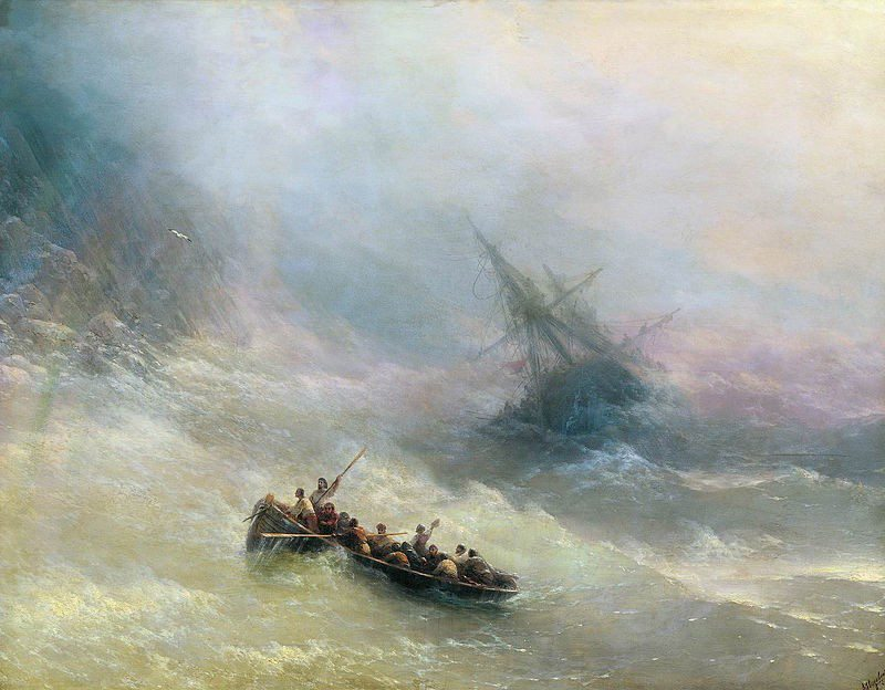 6.1 The Rainbow, Ivan Aivazovsky