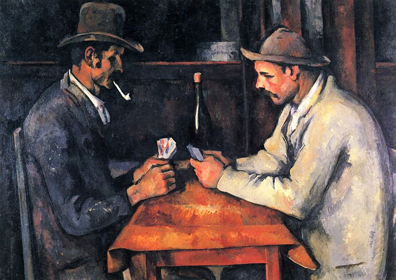 8.1 The Card Players, Paul Cézanne