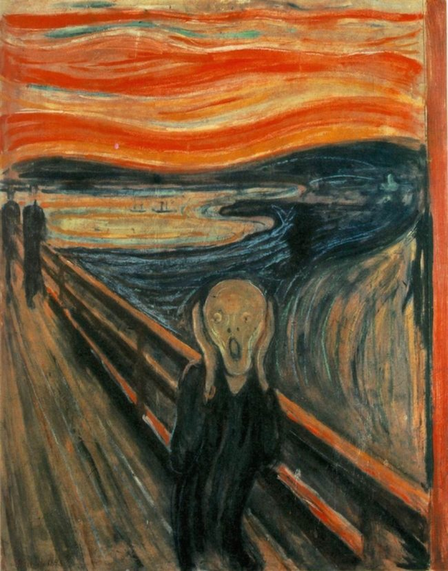 9.4 The Scream, Edvard Munch